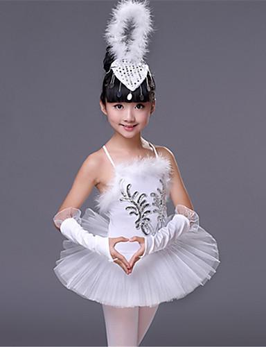YOOJIA Kids Girls Mock High Neck Floral Lace Back Ballet Dance Gymnastics Leotard Ballroom Dance wear Dancing Costume Outfit