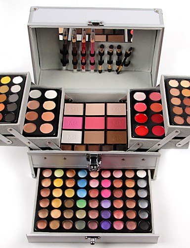 preiswerte Marken Make-up-Make-up-Set Lidschatten Matt Matt Professionell Mehrlagig Schimmer Glänzender Schein Wasserdicht Lang anhaltend Freizeitskleidung Verabredung