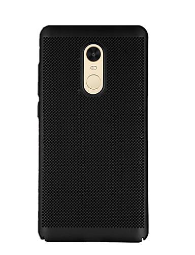 Capinha Para Xiaomi Xiaomi Redmi Note 4X / Xiaomi Redmi Note 4 / Xiaomi Redmi 4A Áspero Capa traseira Sólido Rígida PC