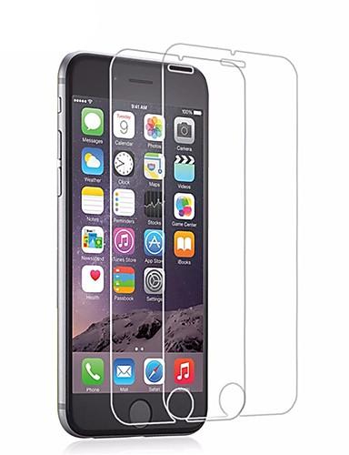 AppleScreen ProtectoriPhone 6s Alta Definição (HD) Protector de Tela 2 pcs Vidro Temperado / Dureza 9H / Borda Arredondada 2.5D / Ultra Fino
