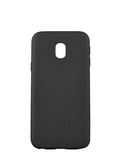tok Για Samsung Galaxy J7 (2017) / J5 (2017) / J3 (2017) Παγωμένη Πίσω Κάλυμμα Μονόχρωμο Μαλακή TPU