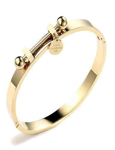 preiswerte Armband Rosegold-Damen Armreife damas Koreanisch Modisch Aleación Armband Schmuck Gold / Rotgold Für Geschenk Alltag Verabredung