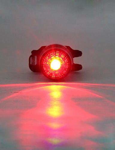 povoljno ljetni popust-LED Svjetla za bicikle Stražnje svjetlo za bicikl sigurnosna svjetla LED Brdski biciklizam Bicikl Biciklizam Vodootporno Višestruka načina Prijenosno Upozorenje Litij USB 180 lm Ugrađeno Li-baterije
