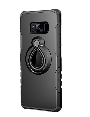 tok Για Samsung Galaxy S8 Plus / S8 / S7 edge Ανθεκτική σε πτώσεις / Βάση δαχτυλιδιών Πίσω Κάλυμμα Μονόχρωμο Σκληρή PC