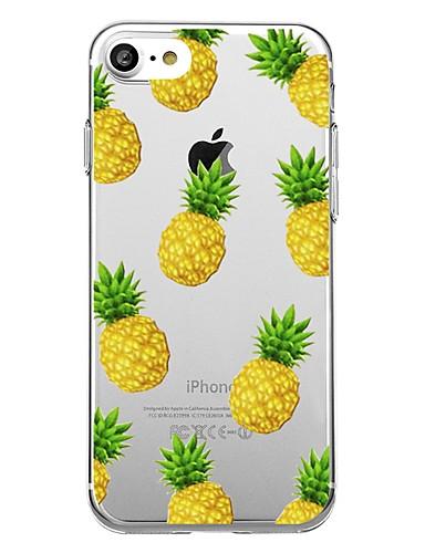 tok Για Apple iPhone X / iPhone 8 Plus / iPhone 8 Με σχέδια Πίσω Κάλυμμα Φαγητό / Φρούτα Μαλακή TPU