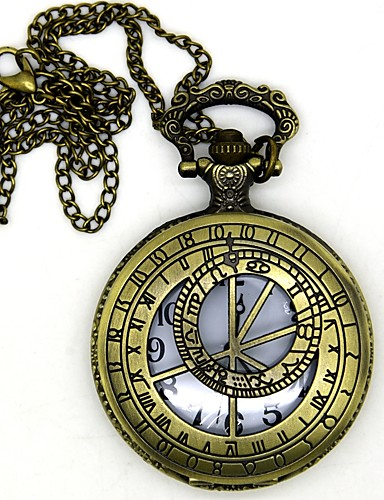 povoljno Maske i kostimi-Clock / Watch Inspirirana Ubojica Conner Anime Cosplay Pribor 1 Ogrlica Sat / sat Broš legura cinka Noć vještica