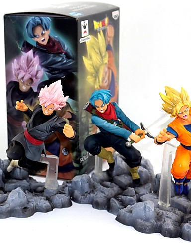 povoljno Anime cosplay-Anime Akcijske figure Inspirirana Dragon Ball Goku PVC CM Model Igračke Doll igračkama