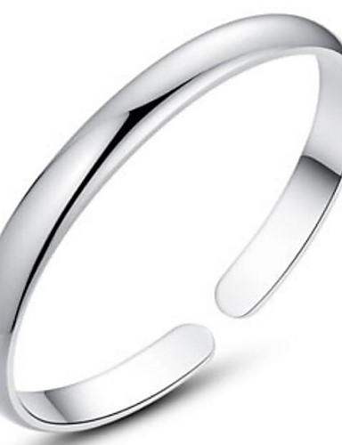 preiswerte Armband Sterlingsilber-Damen Armreife Sterling Silber Armband Schmuck Silber Für Weihnachts Geschenke Hochzeit Party Alltag Normal
