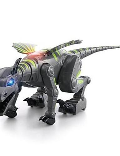cheap Kids' Action & Toy Figures-Animals Action Figure Dragon & Dinosaur Toy Model Building Kit Stress and Anxiety Relief Electric Exquisite Dinosaur Animal Soft Plastic Anime 1 pcs Kid's Boys' Girls' Toy Gift