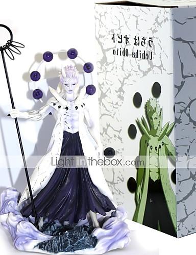povoljno Maske i kostimi-Anime Akcijske figure Inspirirana Naruto Uchiha Obito PVC 24 cm CM Model Igračke Doll igračkama