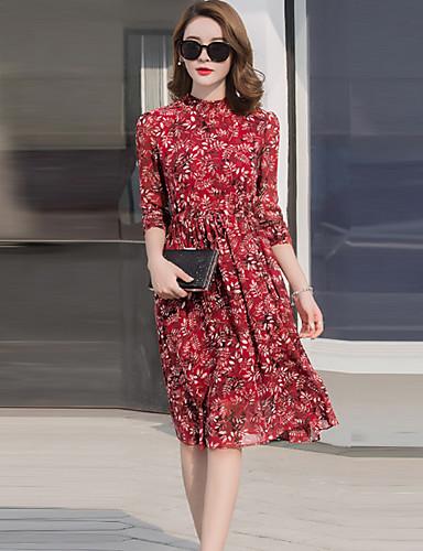 11a57a518794 Γυναικείο Καθημερινά Μπόχο Φαρδιά Φόρεμα