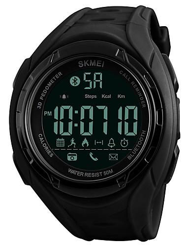 249271a5c SKMEI Pánské Sportovní hodinky Digitální hodinky Křemenný Z umělé kůže  Černá / Khaki / Jetelová 50 m Voděodolné Bluetooth Kalendář Digitální Luxus  Na běžné ...