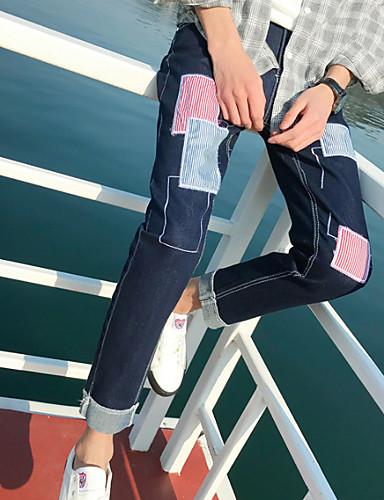 Tonåring i jeans kön