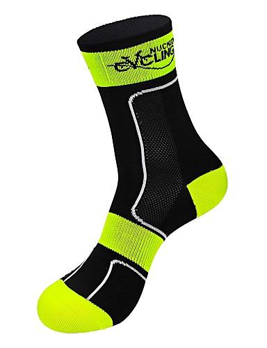 povoljno Biciklističke čarape-Kompresija čarape Duge čarape Futózoknik Sport čarape / atletske čarape Biciklističke čarape Muškarci Žene Trčanje Camping & planinarenje Slobodno vrijeme Sport Bicikl / Biciklizam Ugrijati / Spandex