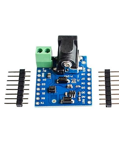 preiswerte Elektronik & Werkzeuge-DC Power Shield v1.1.0 für Wemos d1 mini