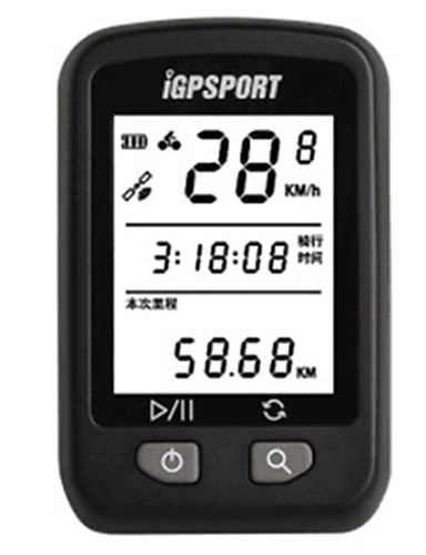 billige Sykling-iGPSPORT® IGS20 Sykkelcomputer Vanntett GPS Bluetooth Fjellsykkel Veisykling Sykling / Sykkel Sykling