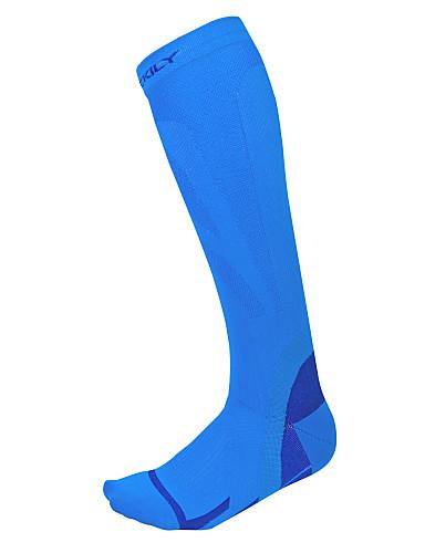 cheap Cycling-Compression Socks Athletic Sports Socks Running Socks Anti-slip Socks Men's Women's Camping / Hiking Running Cycling / Bike Bike / Cycling Thermal Warm Breathable Wearable 1 Pair Winter Classic