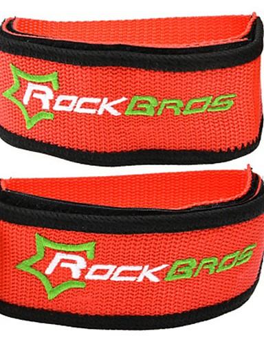 preiswerte Pedale-Pedale Abdeckungen für den Bremsschuh Antirutsch Träger Langlebig Einfach zu installieren Nylon für Radsport Rennrad Geländerad BMX Orange