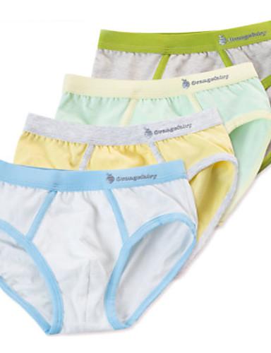 4 delar Barn Unisex Enkel Enfärgad Bomull Underkläder och strumpor 6511925  2019 –  15.95 5954056b75235