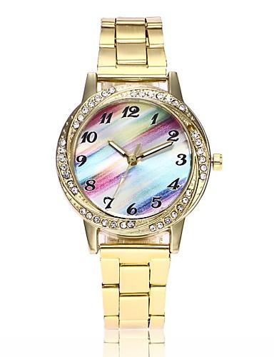 9 44 Women S Wrist Watch Gold Watch Quartz Silver Gold Rose Gold Casual Watch Imitation Diamond Analog Ladies Casual Fashion Dress Watch Gold