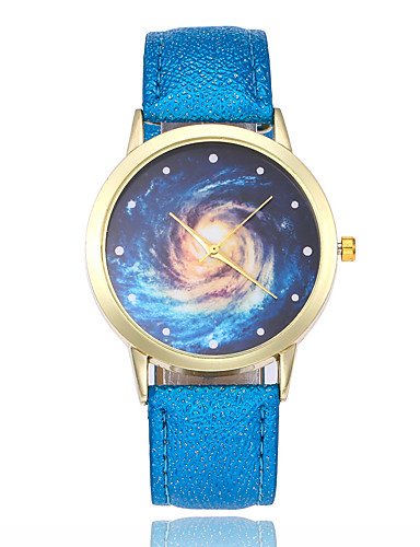 259409248cc Mulheres Quartzo Relógio de Pulso Chinês Relógio Casual Couro Banda Colorido  Fashion Preta Branco Azul Vermelho Marrom Rosa Rose de 6529264 2018 por   8.99
