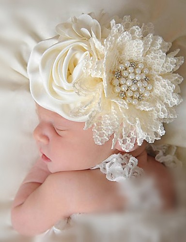 cheap Top Sellers-Infant Girls' Others Hair Accessories Beige One-Size / Headbands