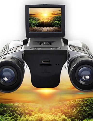 hesapli yaz indirimi-12 X 32 mm Dürbün Yüksek Tanımlama LCD Ekranı Video Kamp & Yürüyüş Avlanma Tırmanma Silikon Kauçuk Kauçuk silikon