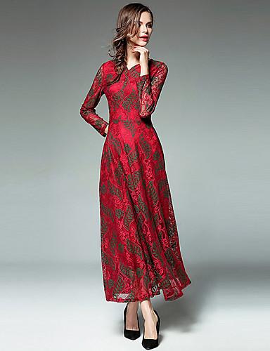 1cd506ff5bae Γυναικεία Βίντατζ Πάρτι Καθημερινά Θήκη Μακρύ Μίντι Φόρεμα