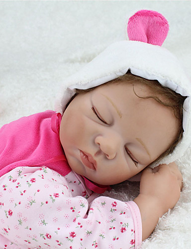 cheap Kids' Dolls, Playsets & Stuffed Animals-NPKCOLLECTION NPK DOLL Reborn Doll Baby & Toddler Toy Baby Reborn Baby Doll 22 inch Silicone - lifelike Cute Hand Made Child Safe Non Toxic Lovely Kid's Toy Gift / Parent-Child Interaction