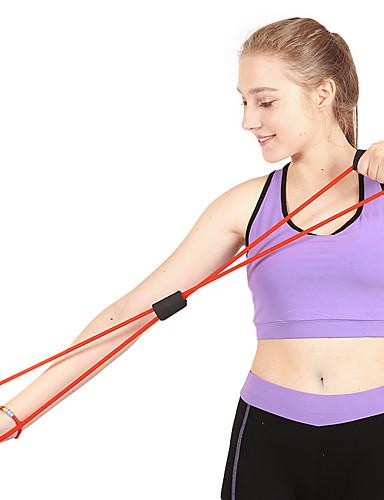 povoljno Vježbanje, fitness i joga-Cijev za izdržljivost / vježbanje izdržljivosti Guma Trening snage Ručka Fizikalna terapija Trening izdržljivosti Yoga Fitness Trening u teretani Za