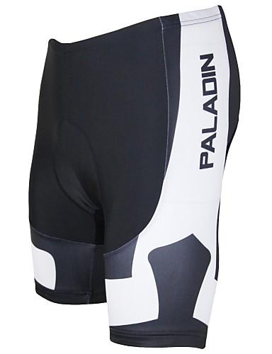 povoljno Odjeća za vožnju biciklom-ILPALADINO Muškarci Biciklističke kratke hlače s jastučićima Bicikl Kratke hlače Podstavljene kratke hlače Hlače Prozračnost Pad 3D Quick dry Sportski Poliester Likra Crn / Obala / Zelen biciklom na