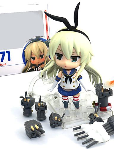 povoljno Maske i kostimi-Anime Akcijske figure Inspirirana Kantai Collection Shimakaze PVC 9.5 cm CM Model Igračke Doll igračkama