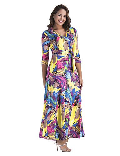 V Neck Spring Dress