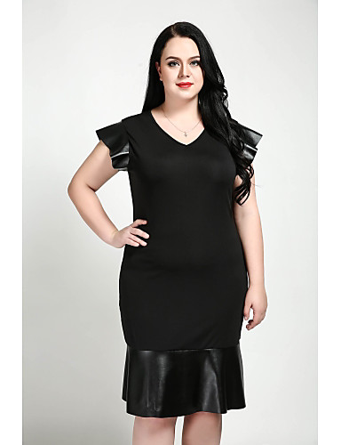 Cute Annreally Love Womens Plus Size Work Vintage Faux Leather