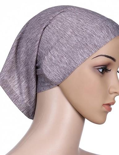 preiswerte Hidschab-Damen Grundlegend, Baumwolle Hidschab Solide