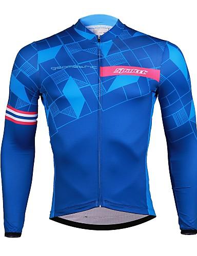 INBIKE Maillot Bicicleta Hombre Jersey Ciclismo con Mangas Largas Camiseta Interior Ciclista para Invierno