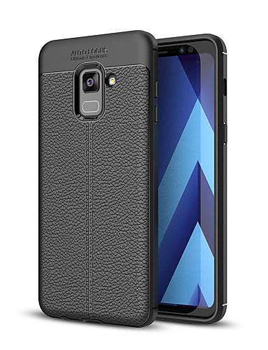 tok Για Samsung Galaxy A3 (2017) / A5 (2017) / A7 (2017) Ανθεκτική σε πτώσεις Πίσω Κάλυμμα Μονόχρωμο Μαλακή TPU