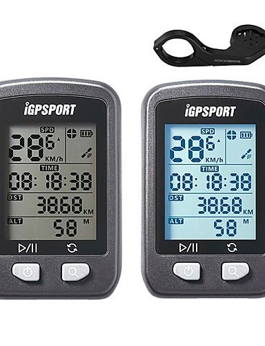 billige Sykling-iGPSPORT® IGS20E Sykkelcomputer Syklingshastighetsmåler Vanntett Stopur GPS Fjellsykkel Vei Sykkel Sykling / Sykkel Sykling