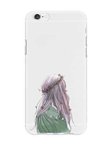 Etui Til Apple iPhone X / iPhone 8 Plus / iPhone 8 Mønster Bakdeksel Tegneserie Myk TPU