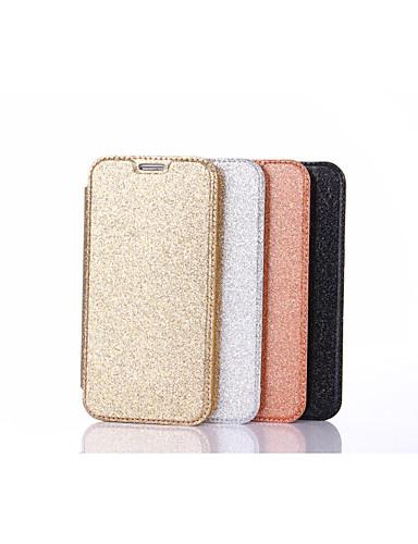tok Για Samsung Galaxy S7 edge / S7 Θήκη καρτών / Ανοιγόμενη Πλήρης Θήκη Μονόχρωμο Σκληρή PU δέρμα