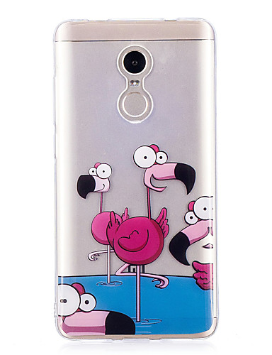 tok Για Xiaomi Xiaomi Redmi Note 4X IMD / Με σχέδια Πίσω Κάλυμμα Φοινικόπτερος Μαλακή TPU