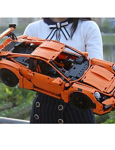 preiswerte Spielzeug & Hobby Artikel-G-T18 Bausteine Bausatz Spielzeug Bildungsspielsachen 421 pcs Auto kompatibel Legoing Fokus Spielzeug Exquisit Boutique Rennauto Jungen Mädchen Spielzeuge Geschenk