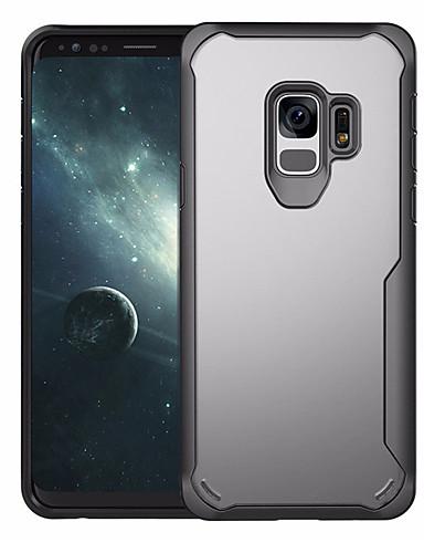 tok Για Samsung Galaxy S9 / S9 Plus / S8 Plus Ανθεκτική σε πτώσεις Πίσω Κάλυμμα Μονόχρωμο Σκληρή PC