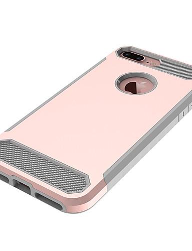 tok Για Apple iPhone 8 Plus / iPhone 8 / iPhone 7 Plus Ανθεκτική σε πτώσεις Πίσω Κάλυμμα Μονόχρωμο Σκληρή PC
