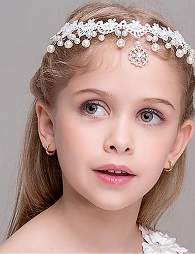 preiswerte Zurück in die Schule-Kinder Mädchen Haarzubehör Weiß Einheitsgröße / Stirnbänder