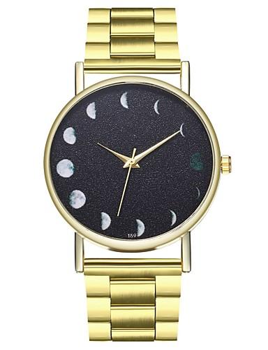 Ανδρικά Ανοξείδωτο Ατσάλι Χρυσό Καθημερινό Ρολόι Φάση Σελήνης Πανκ Αναλογικό Βίντατζ Λεκτικό ρολόι - Χρυσό Ενας χρόνος Διάρκεια Ζωής Μπαταρίας / Μεγάλο καντράν / SSUO LR626