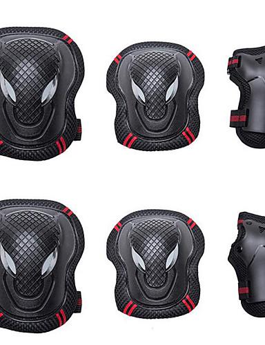Недорогие Распродажа-Защита коленей, локтей и запястий для Роликовые коньки / Гироскутер Дышащий / Защитный 6 шт.