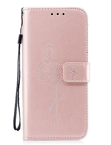 Capinha Para Samsung Galaxy S8 Plus / S8 / S7 edge Carteira / Porta-Cartão / Com Suporte Capa Proteção Completa Sólido Rígida PU Leather