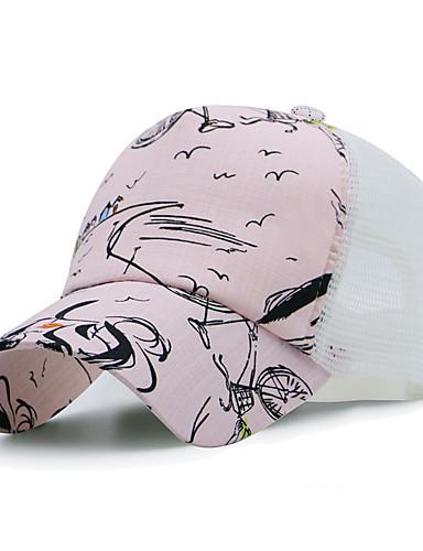 Γιούνισεξ Συνδυασμός Χρωμάτων Γραφείο Βαμβάκι Καπέλο ηλίου Τζόκεϊ