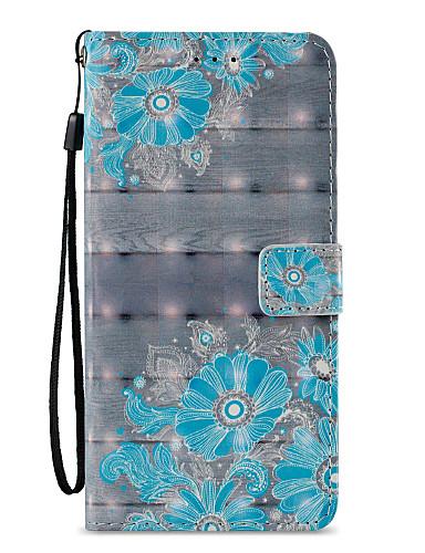 tok Για Samsung Galaxy S9 / S9 Plus / S8 Plus Πορτοφόλι / Θήκη καρτών / με βάση στήριξης Πλήρης Θήκη Lace Εκτύπωση / Λουλούδι Σκληρή PU δέρμα